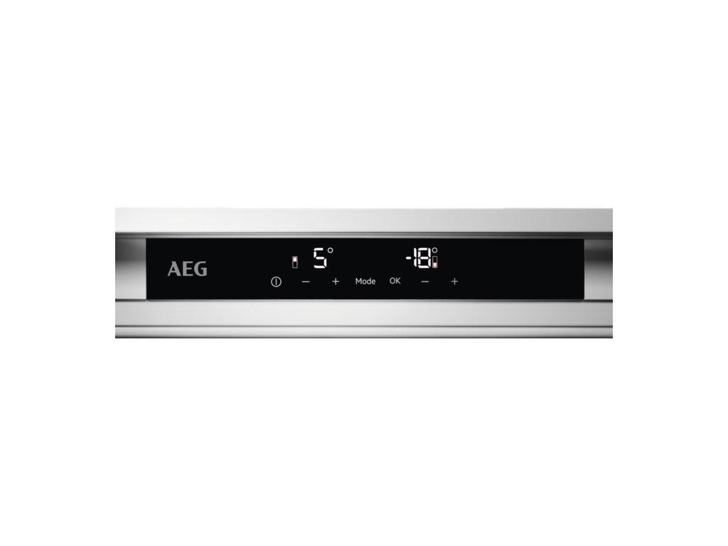 AEG, Vestavná kombinovaná chladnička SCE81816TS