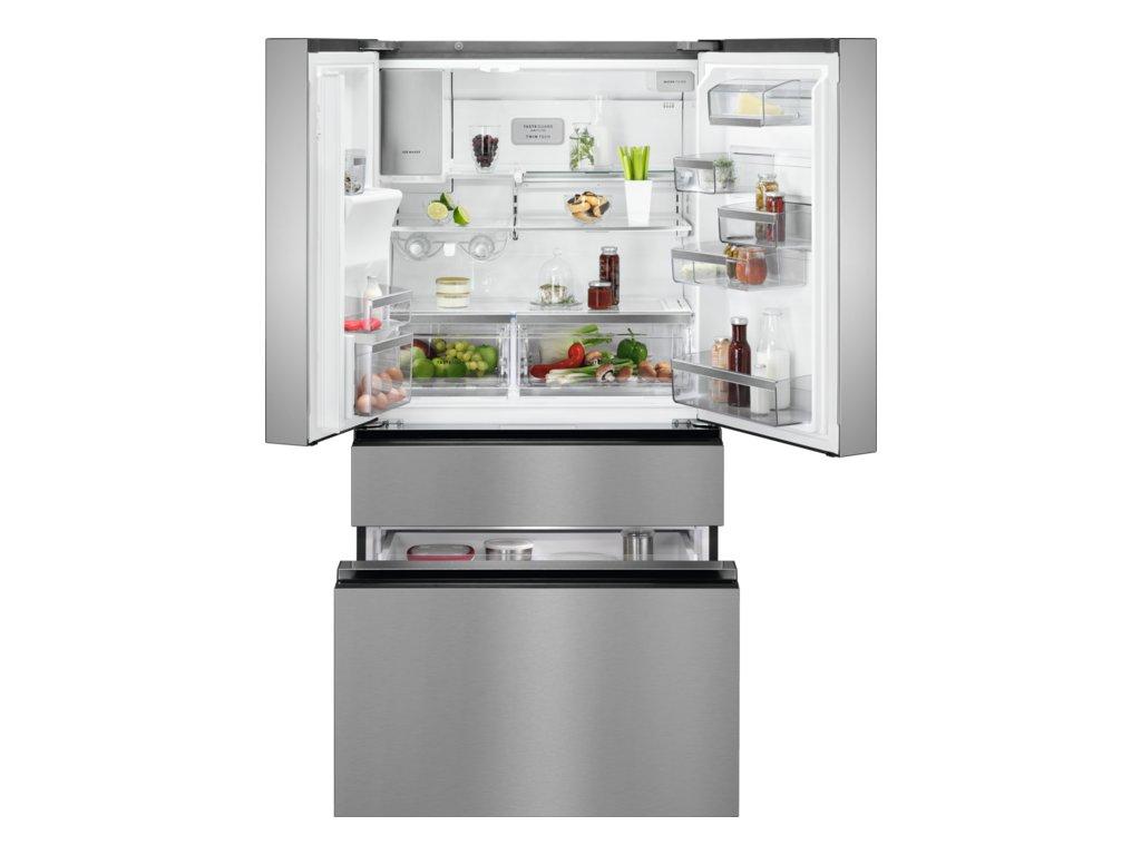 AEG, Volně stojící kombinovaná chladnička RMB96716CX