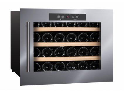 Humibox, Chladnička na víno HumiBoX BU-24 IN Steel